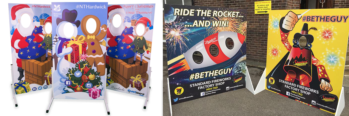 #Betheguy Firework Photoboards