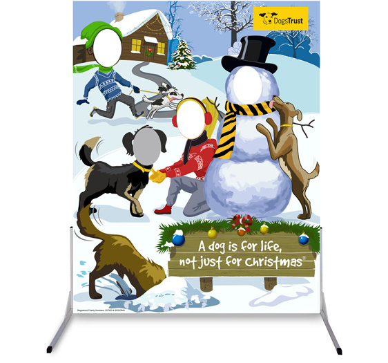 Dogs Trust Christmas Board