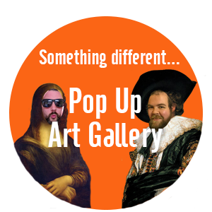 Pop Up Art Gallery